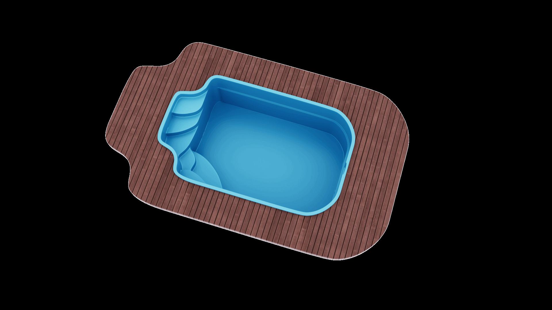 Бассейн 5,0х3,0х1,7